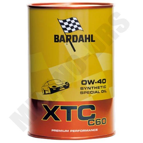 OLIO MOTORE BARDAHL XTC C60 0W40 1LT